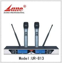 Lane *UR-813 Professional wireless microphone 200 Channels for karaoke/performance/speech/meeting