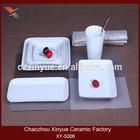 High quality elegance fine porcelain dinner set made in China