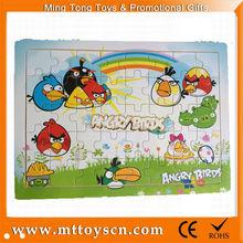 hot sale bird jigsaw puzzle educational toys wholesale