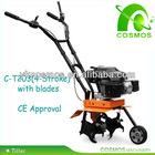 160FA 4 Stroke Tillers And Cultivators CE Approval