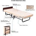 Un sofá de lujo dormitorio de metal plegable añadir camas, cuna, de una sola cama cuna