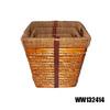 large rectangular willow storage basket