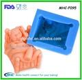 Baby bear sapone stampo in silicone, stampi in silicone per il sapone e candele