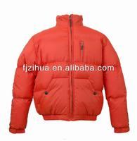 Customized Mens baseball sport down jackets