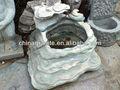 lavabo en pierre de jardin