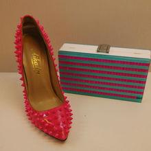 2014 women leather fashion high heels and handbag wholesale italian matching shoe and bag