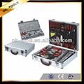 china atacado fornecedor alibaba ferramenta de construção nova alemanha design em alumínio caso 104 pcs conjunto mão ferramenta caixa de ferramentas