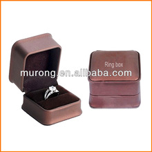 Antique style ring box for wedding gift
