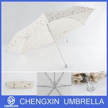 aluminium pongee sun and rain umbrella