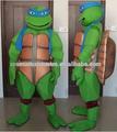 eva material de la felpa traje de la mascota teenage mutant ninja turtles traje de la mascota