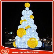 Decoración del Festival bolas de espuma de poliestireno con flores