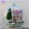 Beartiful princess diy wooden doll house with light