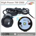 Yüksekliği parlaklık cree chip led kapı projektör ışık/hayalet ışık gölge ışık lazer logo kapı