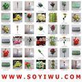 Vermelho orquídea vanda atacadista de yiwu mercado para flores artificiais& bina