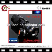 Zoom Light Lamp torch 700LM cree q5 led torch flashlight