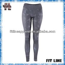 full print womens jogging long pant/allover print skin fit tight yoga/gym pants