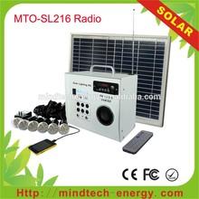 solar electricity generating system portable solar radio mp3 player