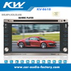 Double din HD touch screen GPS DVD KV-8618
