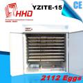 Totalmente automático industrial para incubadora de ovos pintinho pato pássaro avestruz ce aprovado yzite- 15