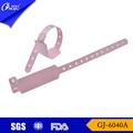 Pvc gj-6040a iso material/ce/certificado de la fda de identificación de adultos pulsera