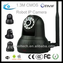 Onvif guard 1.3M home surveillance p2p wireless IP camera kit
