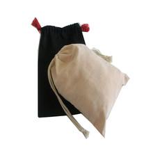 cheap plain drawstring bags/cotton drawstring shoe bags