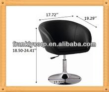 Armrest leather bar chair/ Modern bar stool
