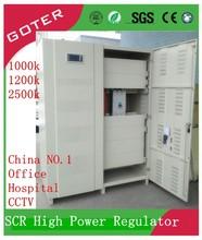 1000-3000 KVA SCR control Industrial Auto AC Voltage Regulator for Factory, Hospital, Hotel, School,