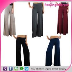 wholesale new arrival summer fashion cheap chiffon ladies palazzo pants