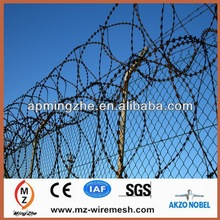 china direct razor wire factory supply high different types security razor wire (28 years history)