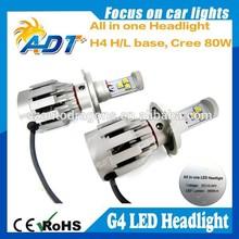 Hot deals hiway US CR led headlight built in canbus H1 H3 H4 H7 H8 H9 H10 H11 H13 9005 HB3 9006 HB4 auto car led headlamp