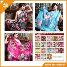 Wholesale Beauty Spring Autumn Twill Silk Scarf