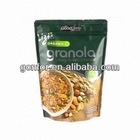 Food Packing Doypack Zipper Pouches, Customized Printing and Sizes are Accepted