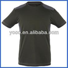 Polyester men plain organic t-shirt wholesale