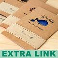 alibaba esprimere logo personalizzato stampato card di auguri fatti a mano