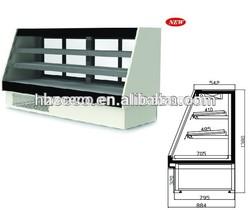 Fresh cabinet used supermarket refrigeration equipment