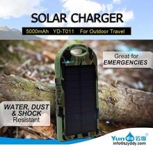 Sample!! Solar Mobile Phone Charger for Samsung Galaxy S5 OEM/Manufaturer 5000mAh 12000mAh