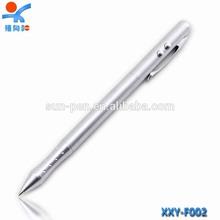 high grade unique design lighting logo metal pen