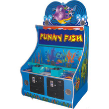 Funny Fish - Coin Operated Amusement Park Arcade Game Lottery Machine Redemption Game Machine