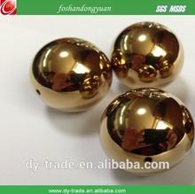 Gold coated decoration celebration hollow ball