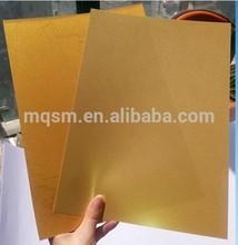 Golden Inkjet Printing Pvc Sheet