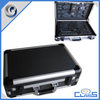 MLDGJ687 Excellent Quality Black Professional Briefcase Portable Aluminum Tools Case With Pocket Board