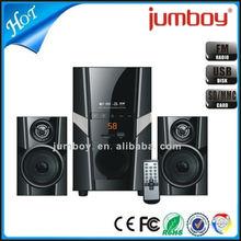 hot sale good price USB SD FM 2.1 PC speaker, bluetooth 2.1 speaker box