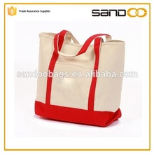 2015 FLA audit factory eco friendly plain white cotton tote bag, cotton canvas bag