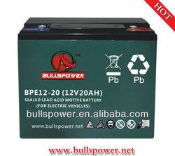 36v 20ah scooter battery/electric bike battery 6-dzm-20(12v 20ah/10hr)