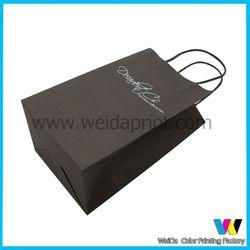 fashional high quality fruit kraft paper bag