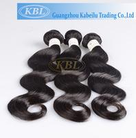 KBL human hair weft/100% malaysian virgin hair, top grade wholesale virgin malaysian hair