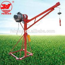 lightweight 360 degree 500kg mini stationary hoist crane