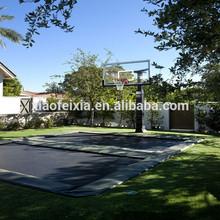 CE safe trampoline basketball hoop