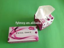 Hot sale virgin wood pulp box tissue